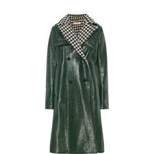 Patent Long Coat