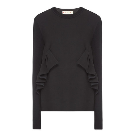 Ruffle Sweater, ${color}