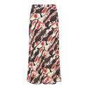 Marron Printed Skirt, ${color}