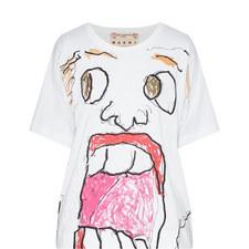 Face Print T-Shirt