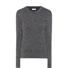 Long Sleeve Lurex Sweater