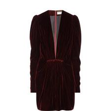 Velvet Plunge Dress
