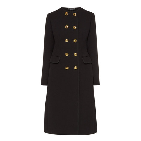 Double Breasted Longline Coat, ${color}