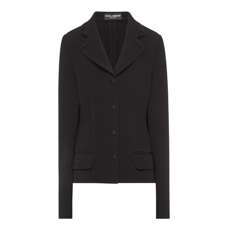 Short Peplum Jacket, ${color}