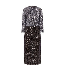 Sequinned Pencil Dress