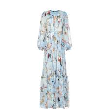 Angel Long Chiffon Gown