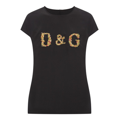 Embroidered Logo T-Shirt, ${color}