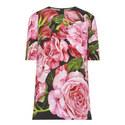 Rose Print Top, ${color}