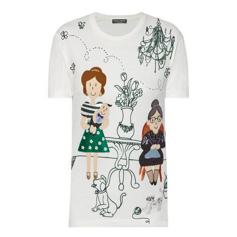 Embellished Front T-Shirt, ${color}