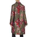 Floral Jacquard Coat, ${color}