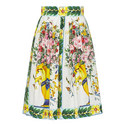 Maiolica Organza Skirt, ${color}