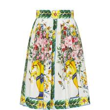 Maiolica Organza Skirt