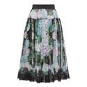Hydrangea Chiffon Midi Skirt, ${color}
