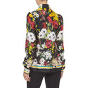 Pussy-Bow Floral Blouse, ${color}