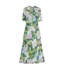 Kate Middleton Hydrangea Print Dress