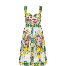 Maiolica Organza Dress
