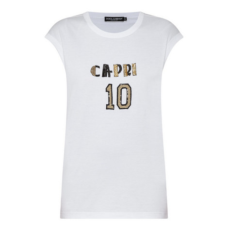 Sequin Capri T-Shirt, ${color}