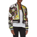Floral Cropped Bomber Jacket, ${color}