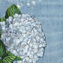Skinny Fit Hydrangea Motif Jeans, ${color}