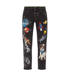 Dog Rocket Embellished Jeans