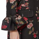 Jacquard Lace Lurex Coat, ${color}