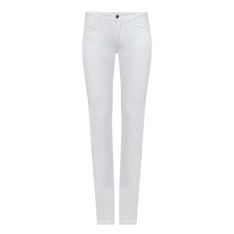 Flared Mid Rise Jeans, ${color}