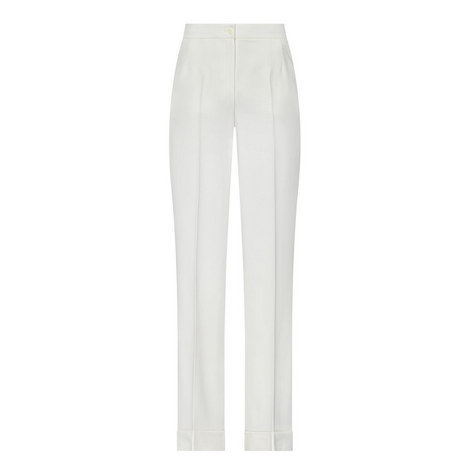 High Rise Wide Fit Trousers, ${color}
