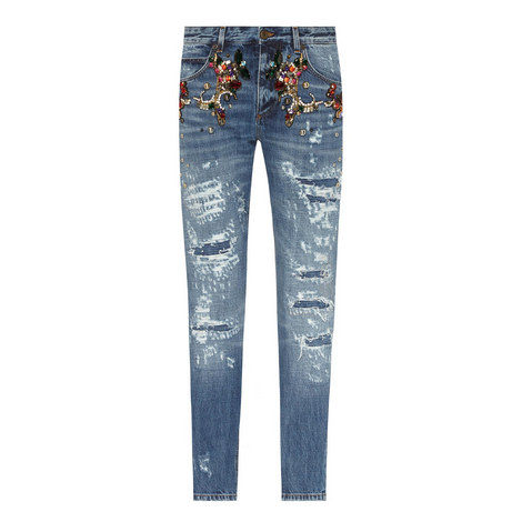 Embellished Jeans, ${color}