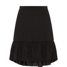 Hilo Dropped Hem Skirt