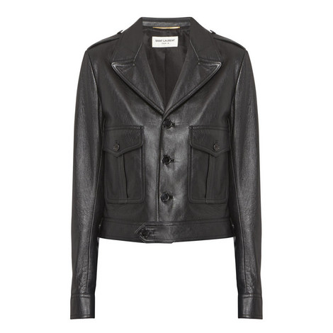 Button-Down Leather Jacket, ${color}