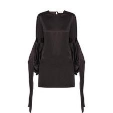 Billowed Sleeve Dress