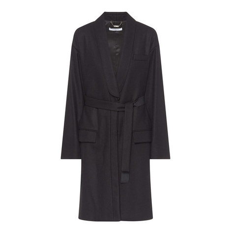 Relaxed Fit Longline Coat, ${color}