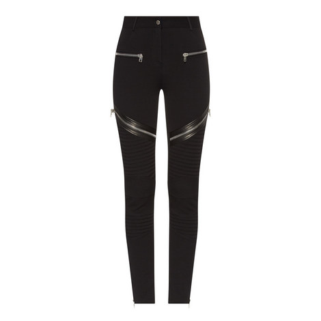 Slim Fit Biker Jeans, ${color}