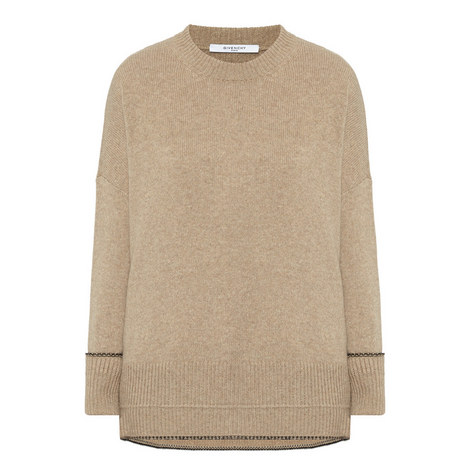 Relaxed Fit Knitted Sweater, ${color}