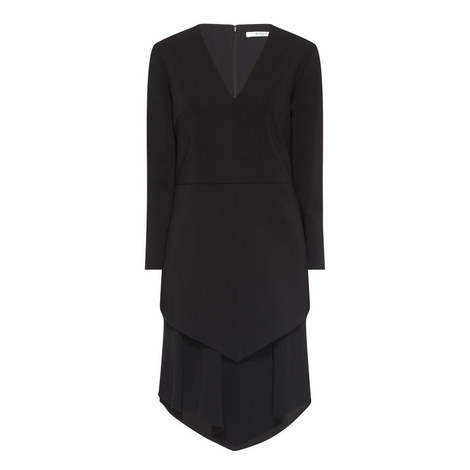 Layered Skirt Dress, ${color}