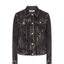 Studded G Denim Jacket