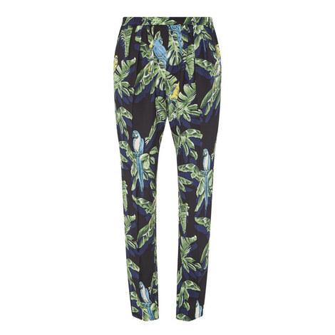 Parrot Print Trousers, ${color}