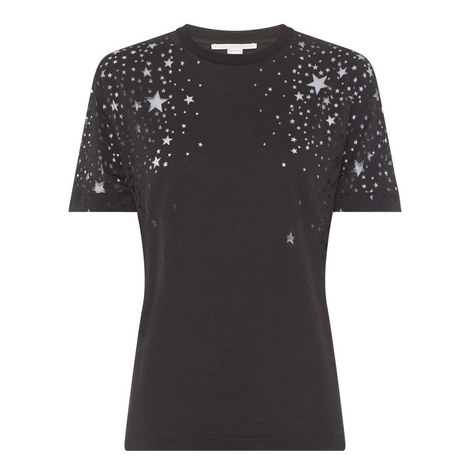 Cut-Out Star T-Shirt, ${color}
