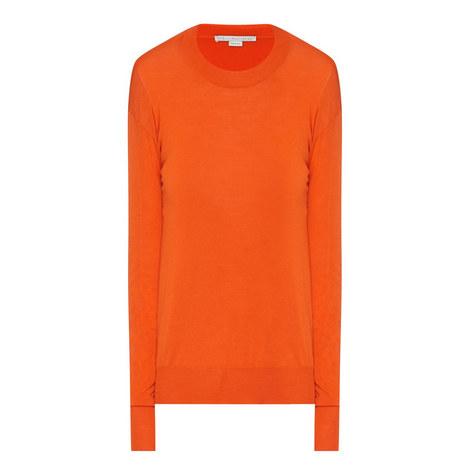 Sharkbite Hem Wool Sweater, ${color}