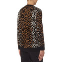 Cheetah Jacquard Sweater, ${color}