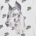Sleeveless Dog Print T-Shirt, ${color}