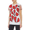 Heart Print T-Shirt, ${color}