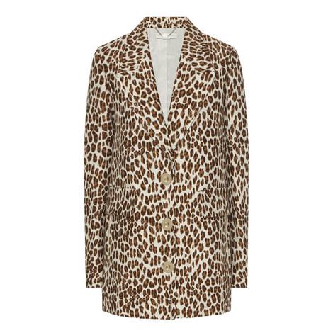 Leopard Print Jacket, ${color}