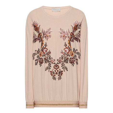Embroidered Front Top, ${color}