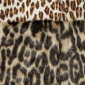 Sleeveless Leopard Print Coat, ${color}