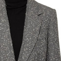 Relaxed Fit Tweed Blazer, ${color}
