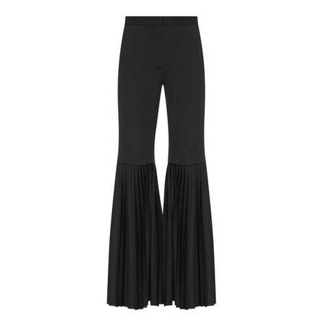 Pleated End Trousers, ${color}