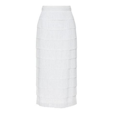 Long Fringe Skirt, ${color}