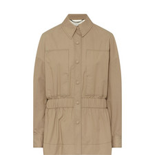 Fitted Trench Jacket