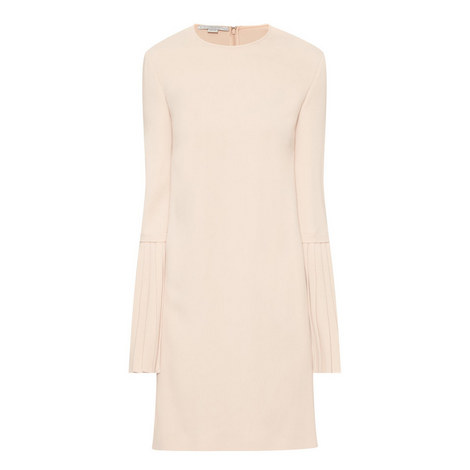 Victoria Pleated Sleeve Dress, ${color}